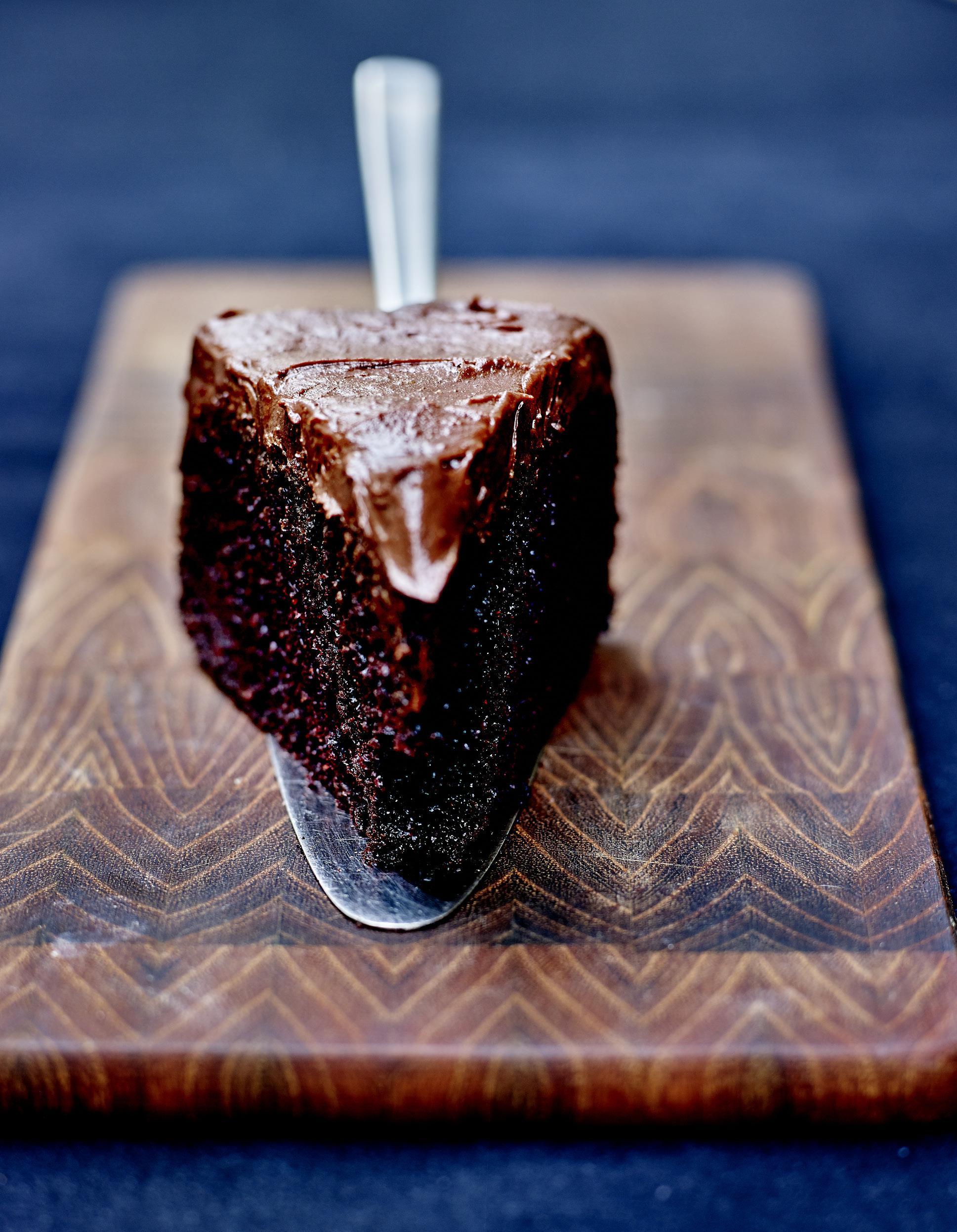 chocolate fudge cake sans gluten gla age chocolat et fleur de sel pour 6 personnes recettes. Black Bedroom Furniture Sets. Home Design Ideas