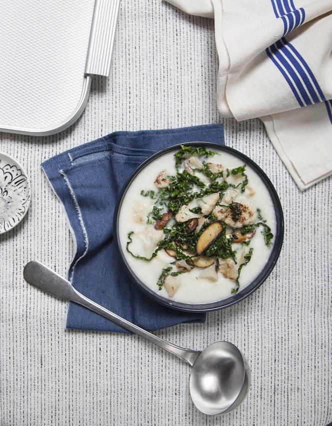 Chowder l gumes d hiver pour 4 personnes recettes elle - Legumes d hiver a cuisiner ...