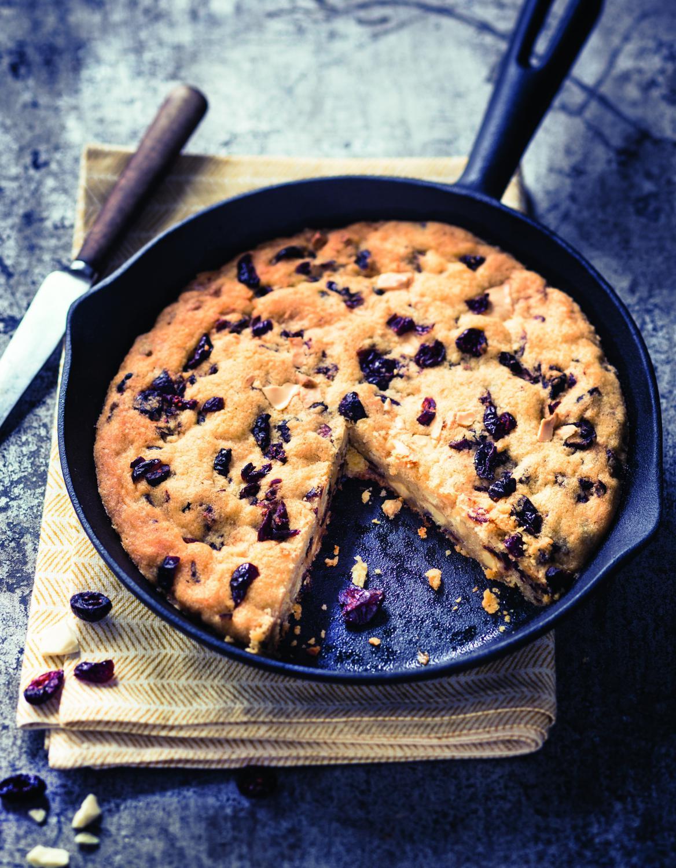 cookie g ant aux cranberries pour 4 personnes recettes. Black Bedroom Furniture Sets. Home Design Ideas
