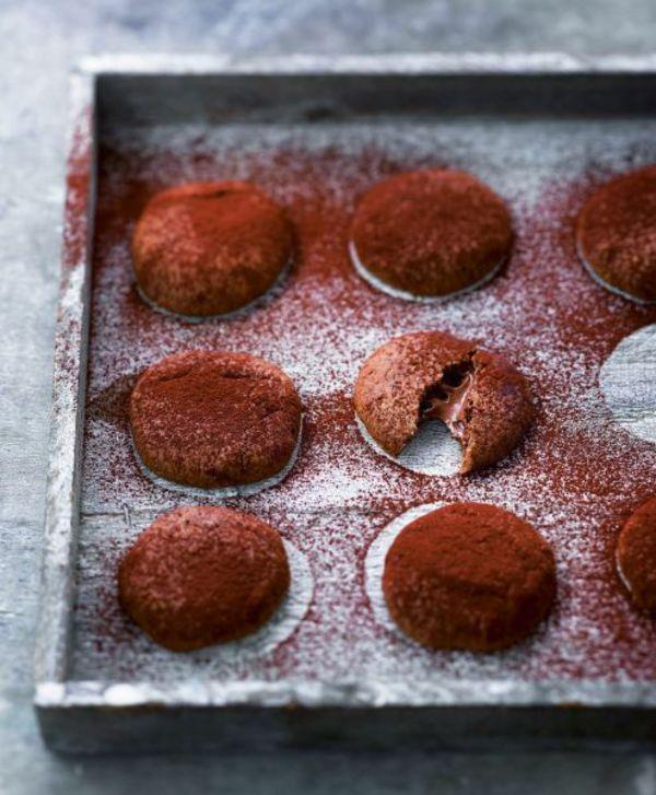 cookies au chocolat fourr s la p te tartiner pour 5. Black Bedroom Furniture Sets. Home Design Ideas
