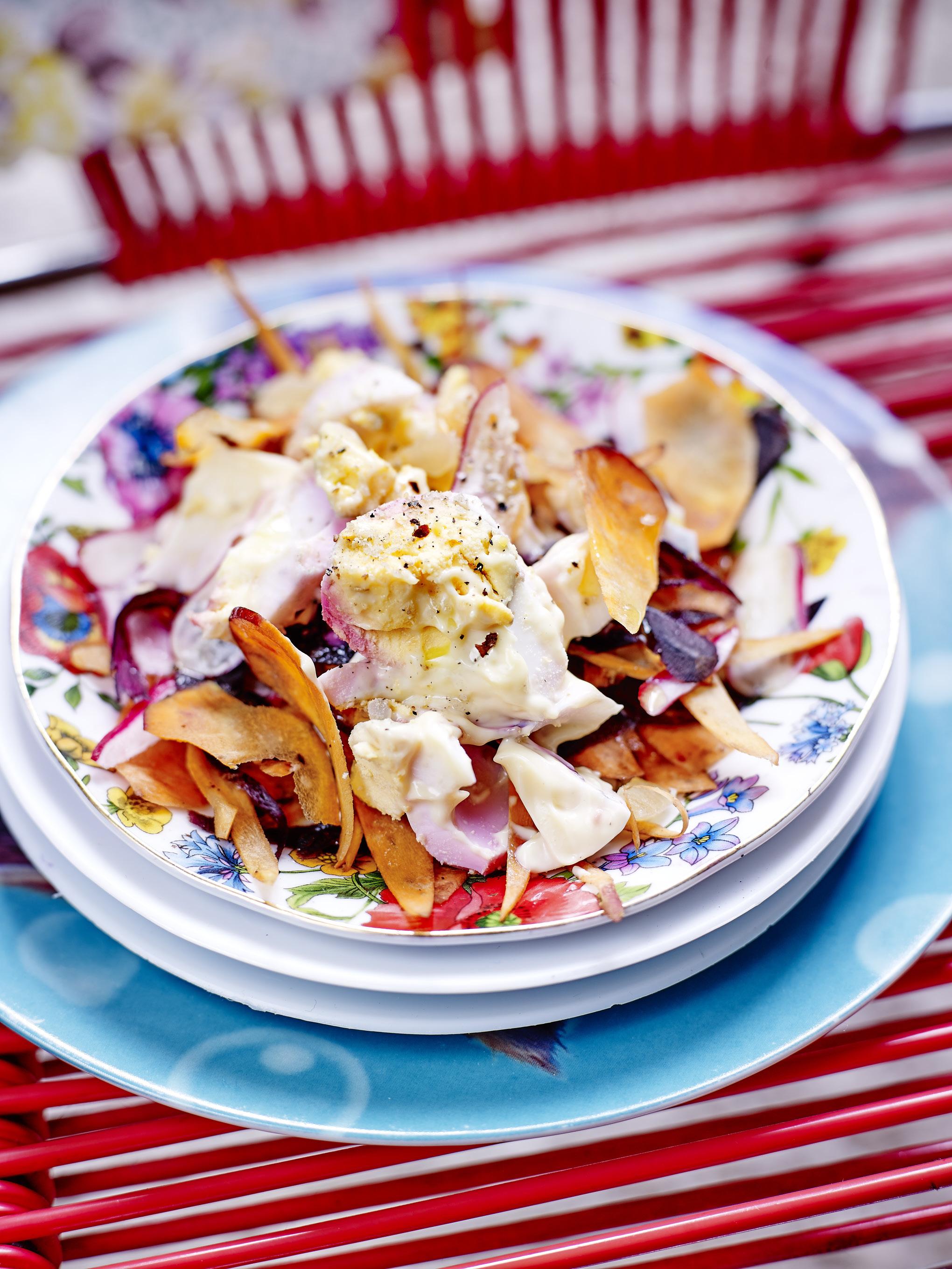Egg salad l g re pour 4 personnes recettes elle table - Cuisine legere thermomix ...