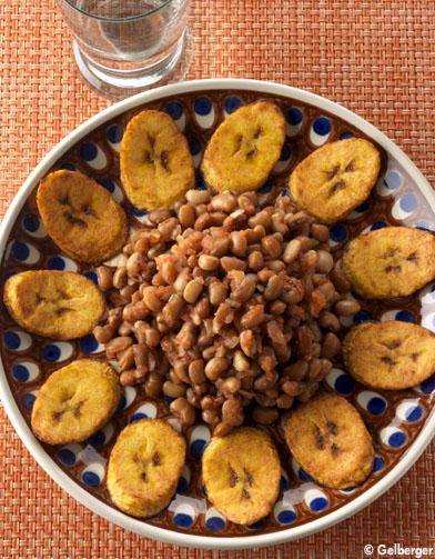 Haricots la banane plantain pour 2 personnes recettes - Cuisiner des bananes plantain ...