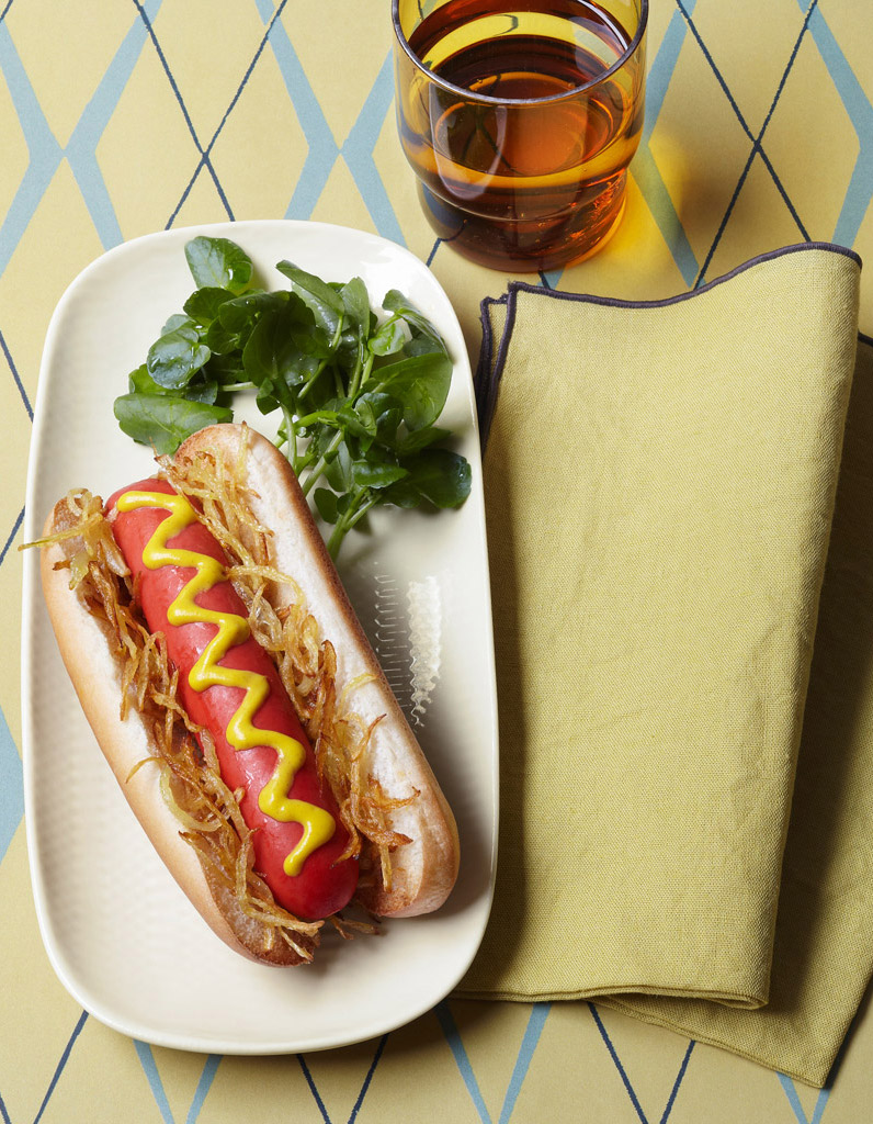 hot dog pour 4 personnes recettes elle table. Black Bedroom Furniture Sets. Home Design Ideas