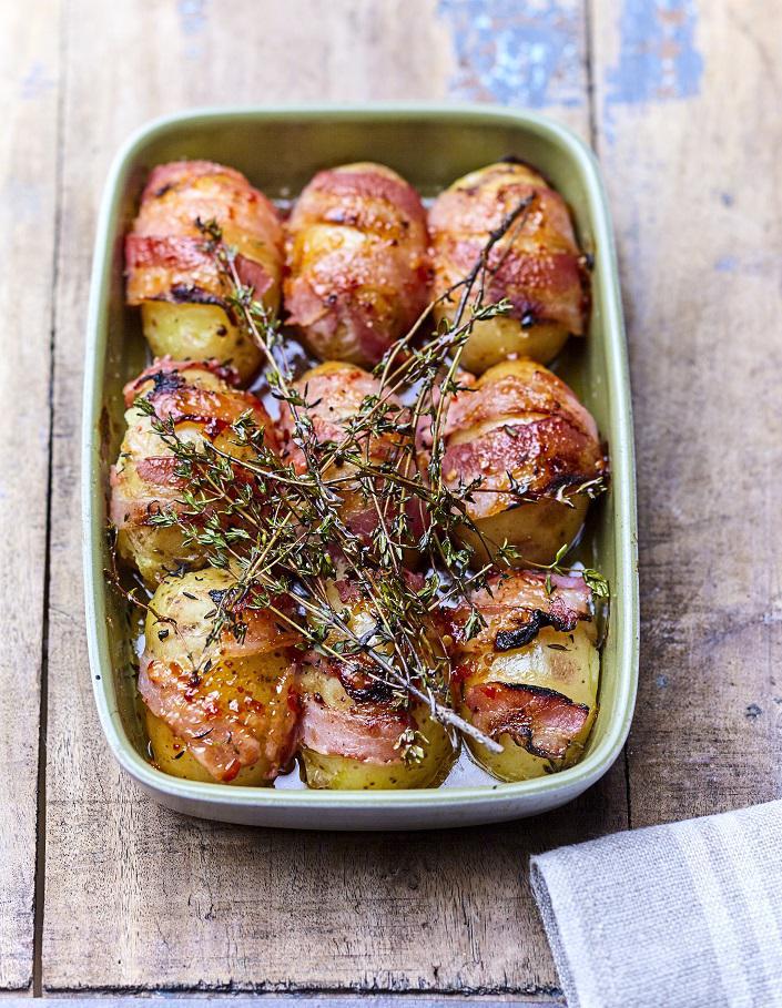 Pommes de terre au lard fum pour 4 personnes recettes elle table - Comment cuisiner des pommes de terre ...