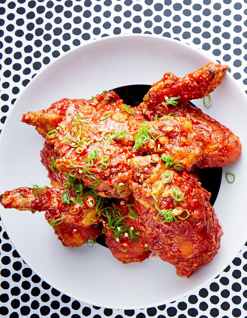 Poulet frit cor en sauce piquante pour 4 personnes recettes elle table - Cuisine ayurvedique recettes ...