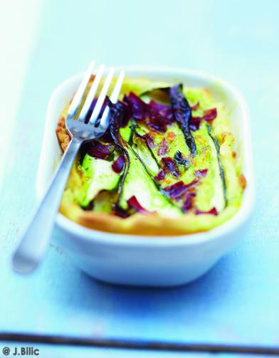 Quiche aux courgettes et la viande des grisons pour 6 for Aux beaux rivages la cuisine