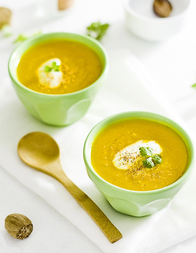 Soupe de carottes la marocaine thermomix pour 4 - Que cuisiner avec des carottes ...