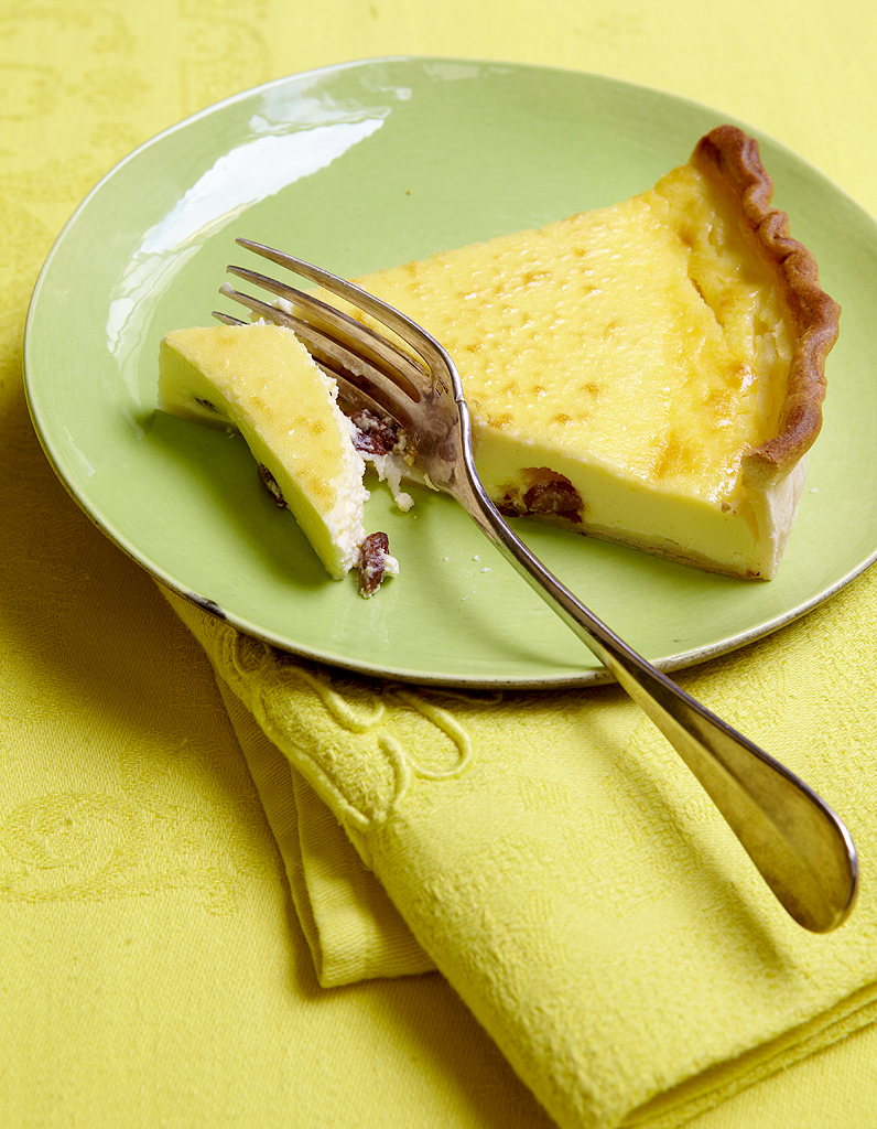 tarte au fromage blanc pour 6 personnes recettes elle table. Black Bedroom Furniture Sets. Home Design Ideas