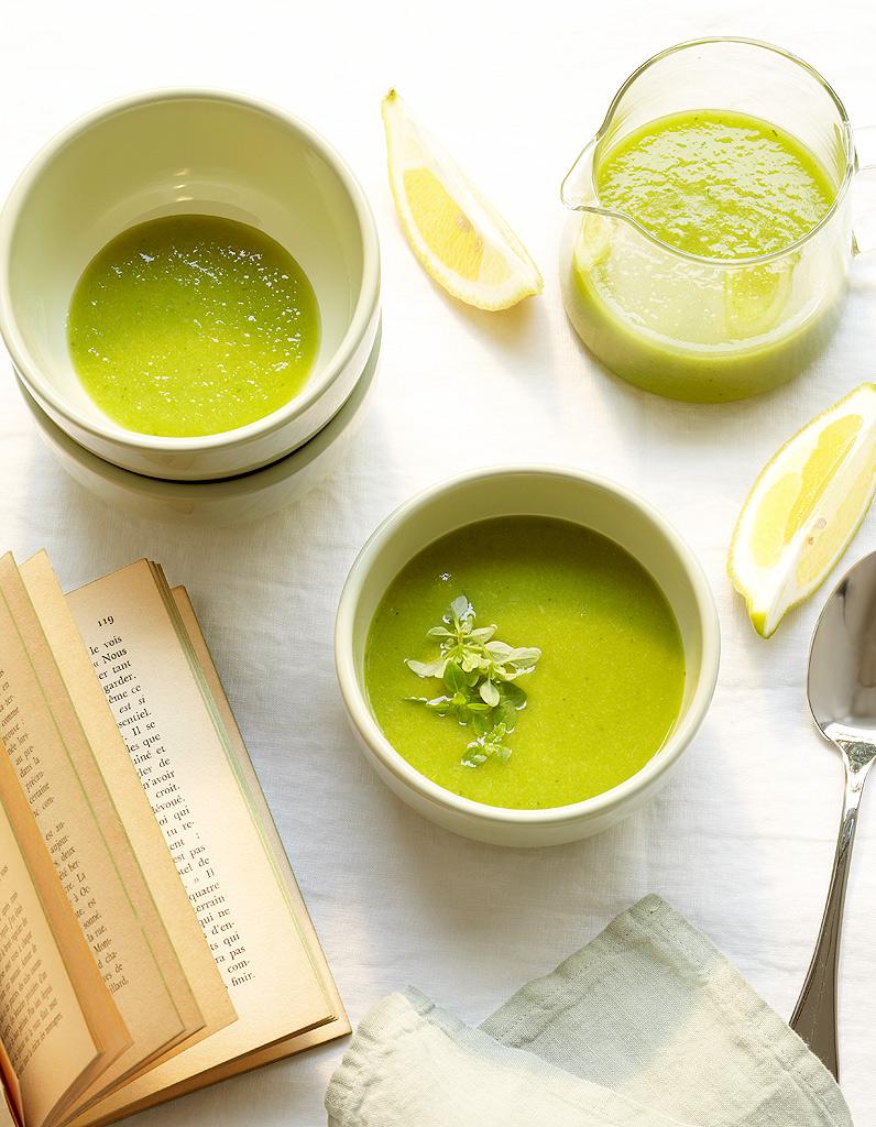 Velout glac de tomates vertes pour 4 personnes recettes elle table - Cuisiner des tomates vertes ...