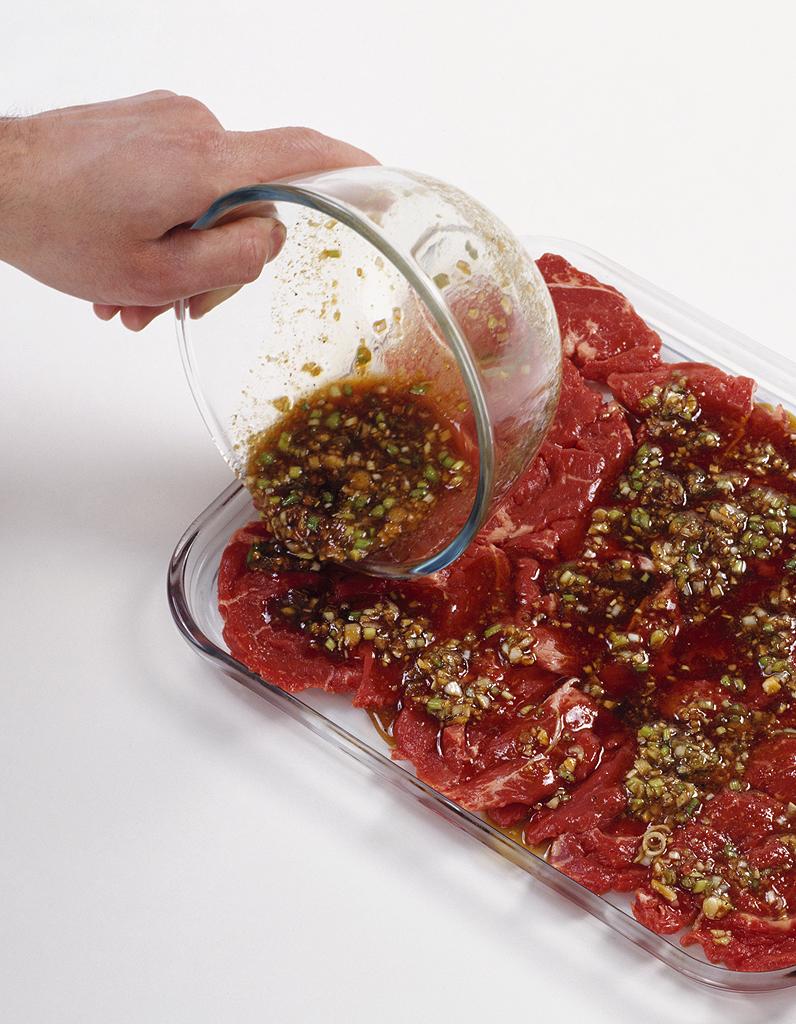 Comment faire une marinade aigre douce elle table - Comment faire une marinade ...