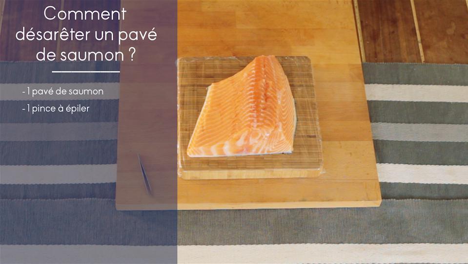 Ar te poisson comment retirer l arr te d un poisson elle vid os - Comment cuisiner pave de saumon ...
