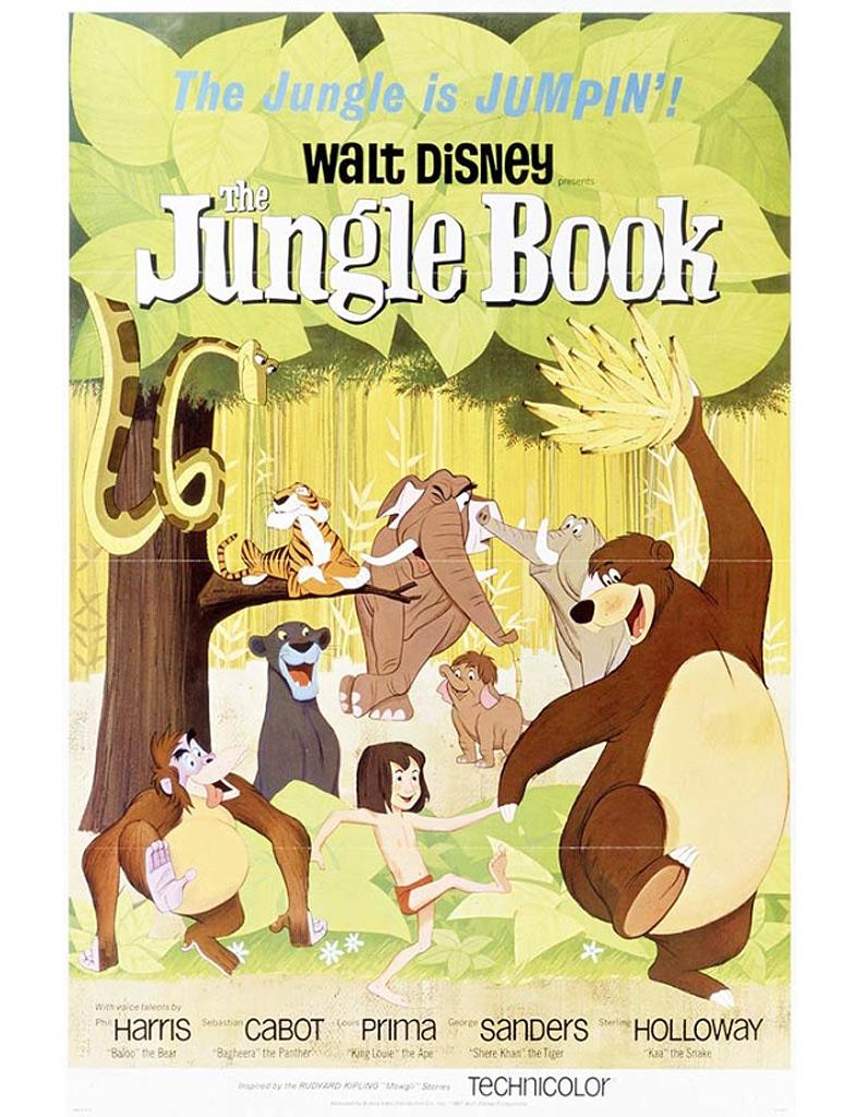 Le livre de la jungle 1967 les dessins anim s - La chambre des officiers livre ...