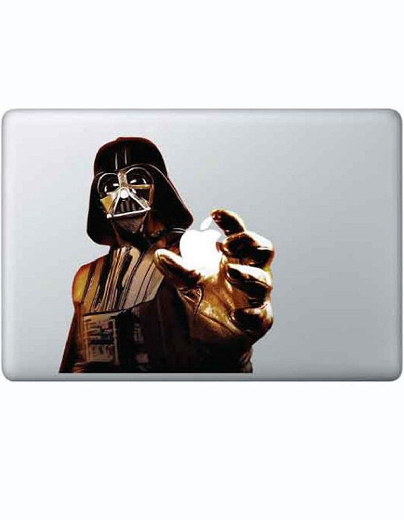 sticker dark vador pour macbook star wars les. Black Bedroom Furniture Sets. Home Design Ideas