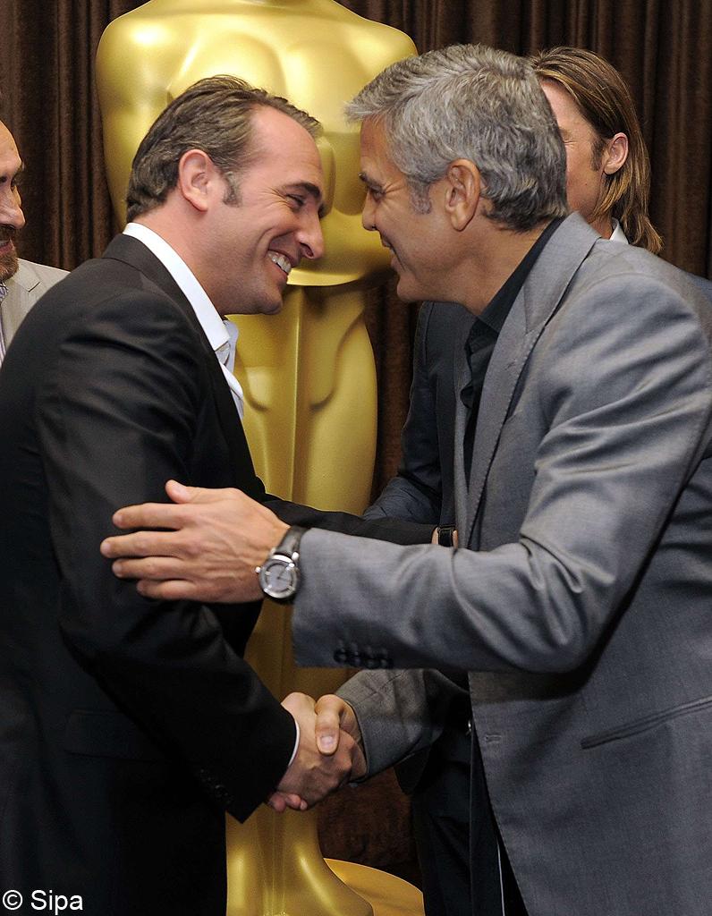 George clooney jean dujardin nouveau duo du cin ma for Nouveau film dujardin