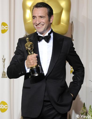 Jean dujardin rafle l 39 oscar du meilleur acteur 39 the for Oscar jean dujardin