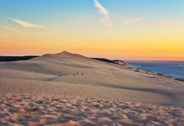 Depuis la dune du pilat 10 lieux magiques o admirer le coucher du soleil p - Restaurant dune du pilat ...