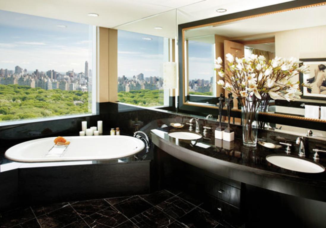 L h tel mandarin oriental new york 13 h tels o la for Salle de bain new york