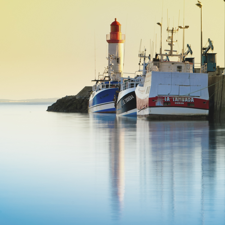 Loisirs Evasion Ile d Oleron Le port de la Cotiniere et ses bateaux peche colores