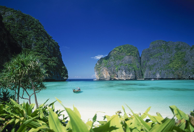 plage tha lande du film la plage la plage de phi phi lee les 10 plus belles plages de. Black Bedroom Furniture Sets. Home Design Ideas