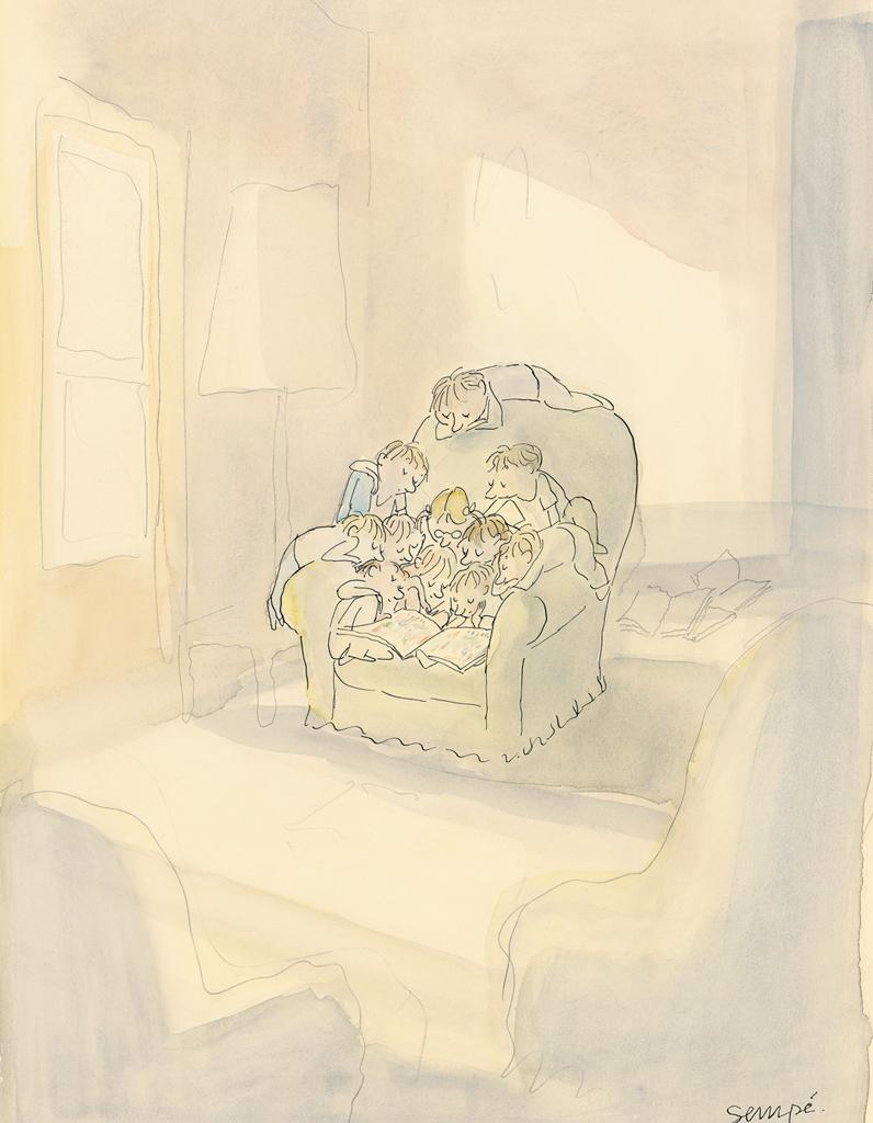 dessins l amiti selon semp elle. Black Bedroom Furniture Sets. Home Design Ideas