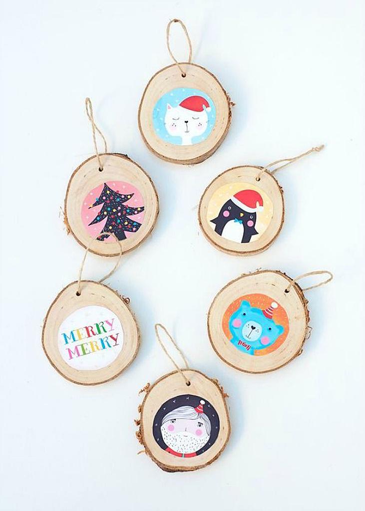 Décoration de Noël DIY en bois - 20 décorations de Noël DIY à tomber ...