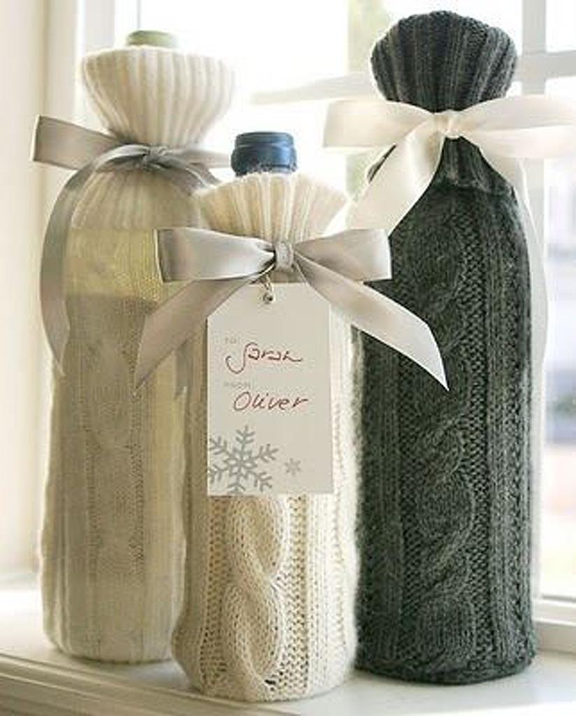 emballage cadeau bouteille 25 id es d emballages cadeau qui font de l 39 effet elle. Black Bedroom Furniture Sets. Home Design Ideas