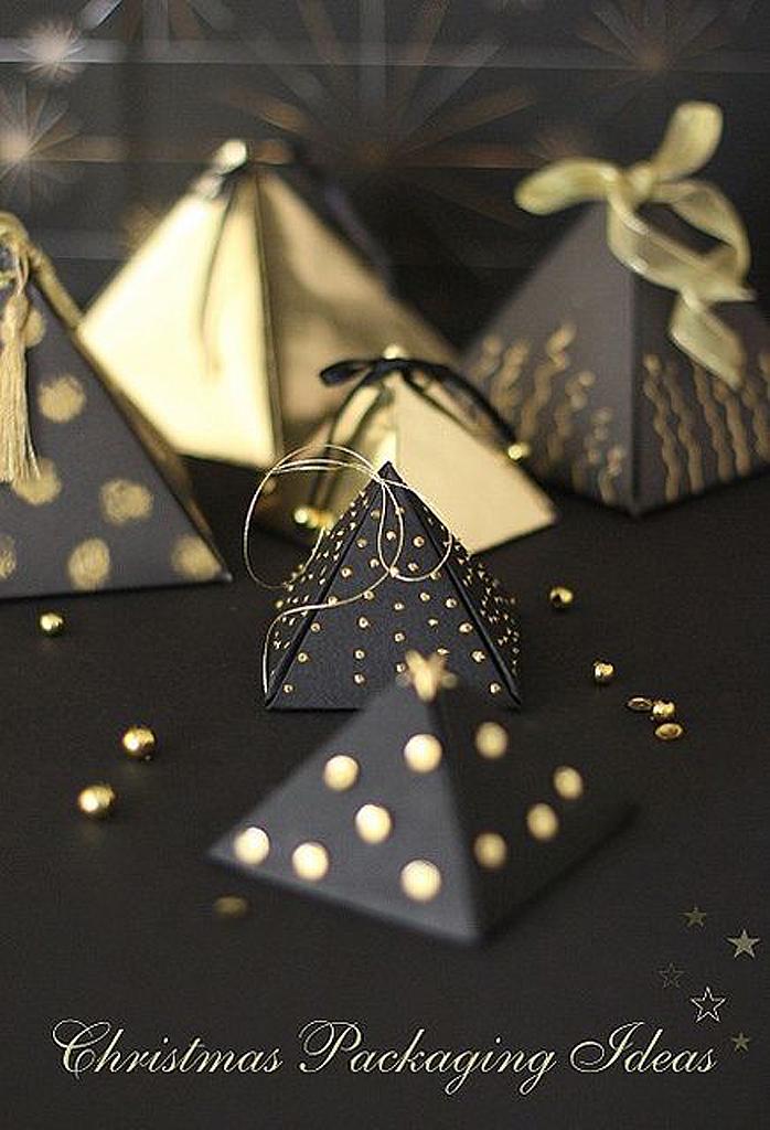 Emballage cadeau de luxe 25 id es d emballages cadeau - Paquet cadeau original maison ...