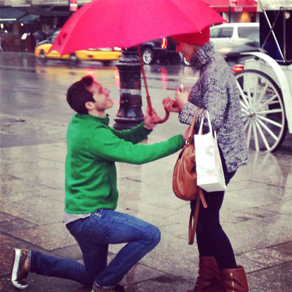 Assez Demande en mariage : serait-ce la plus romantique du monde ? - Elle CL29