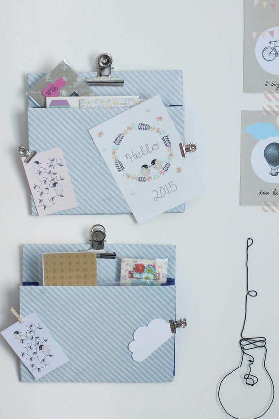 cadeau f te des m res faire soi m me un porte document mural 20 id es cadeaux de f te des. Black Bedroom Furniture Sets. Home Design Ideas