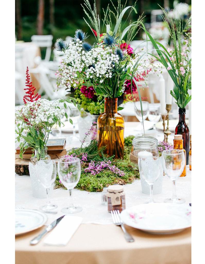 Centre de table gazon centre de table nos 20 jolies for Pinterest centre de table