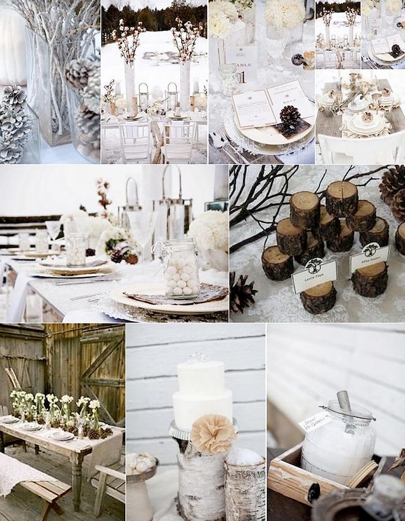 mariage hiver chic le mariage d hiver et si c tait la meilleure saison elle. Black Bedroom Furniture Sets. Home Design Ideas