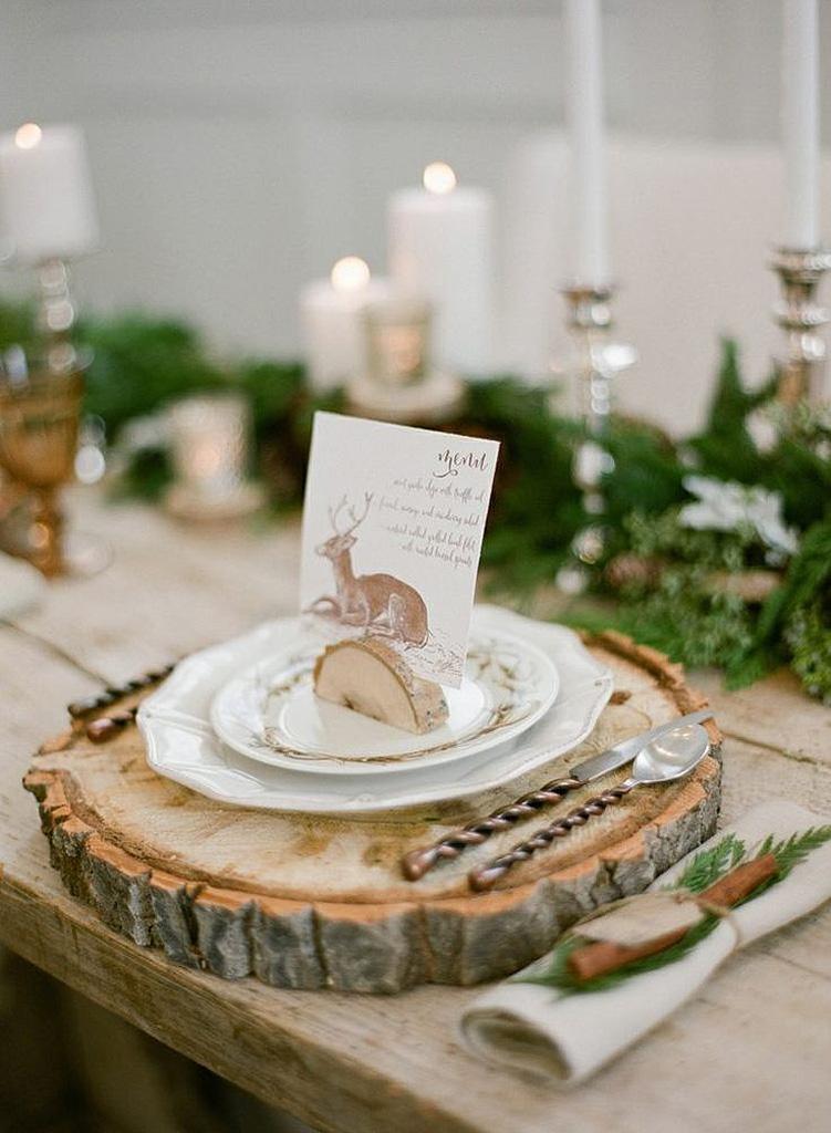 Bekannt Mariage hiver menu original - Le mariage d'hiver, et si c'était la  YD77