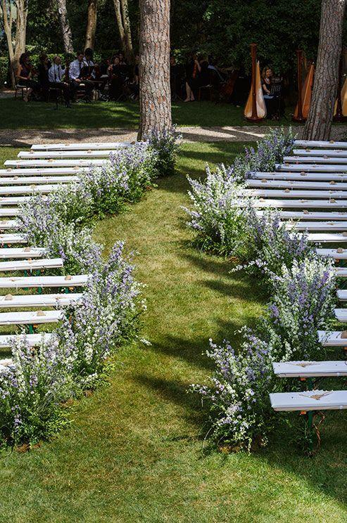 les fleurs des champs le long des bancs 20 id es faciles. Black Bedroom Furniture Sets. Home Design Ideas