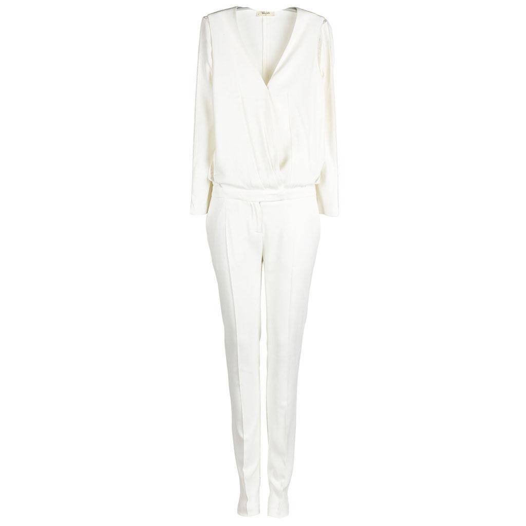 combinaison blanche ba sh 30 combinaisons blanches pour moderniser la robe de mari e elle. Black Bedroom Furniture Sets. Home Design Ideas