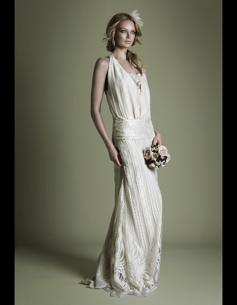 robe en cr pe style ann es 20 the vintage wedding dress