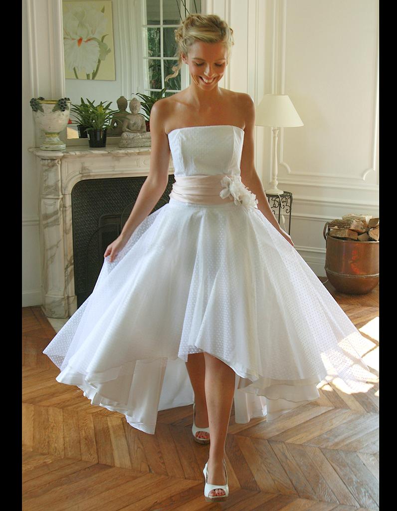 robes de marie courtes automne hiver 2015 marie laporte. Black Bedroom Furniture Sets. Home Design Ideas