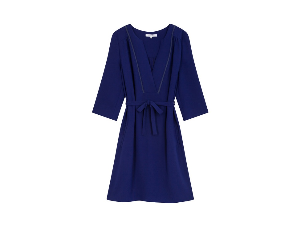 robe t moin de mariage bleue marine gerard darel 20 robes de t moin de mariage qui font de l. Black Bedroom Furniture Sets. Home Design Ideas