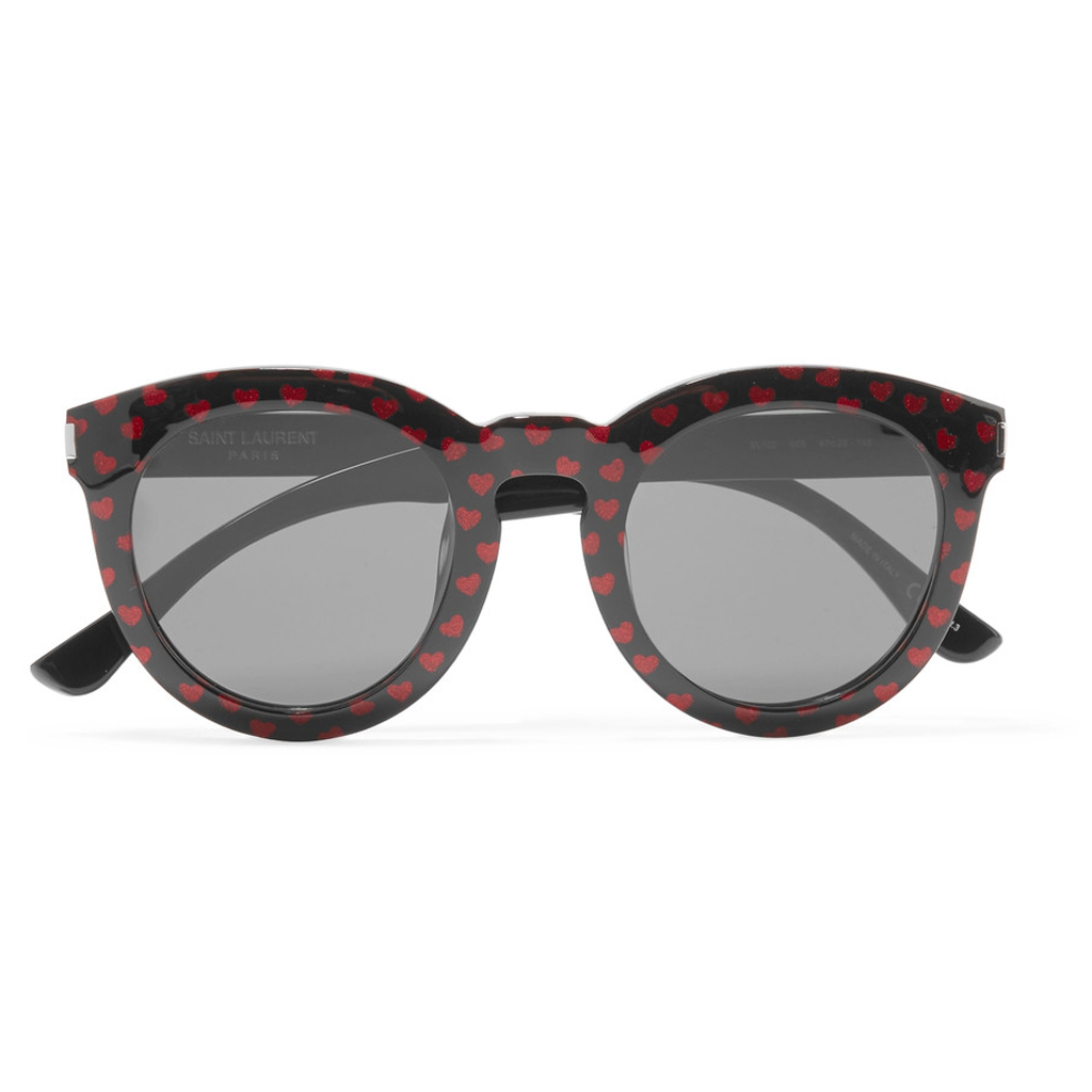 lunettes rondes saint laurent cool des lunettes rondes. Black Bedroom Furniture Sets. Home Design Ideas