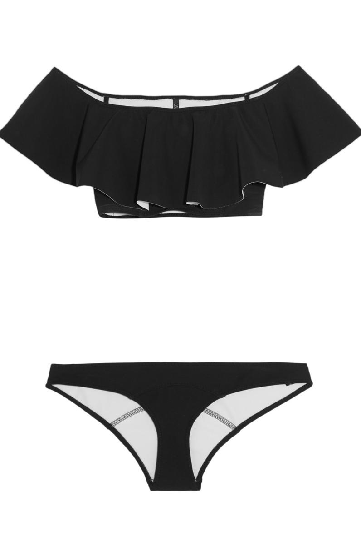maillot de bain bandeau volants lisa marie fernandez 25 maillots de bain bandeau pour. Black Bedroom Furniture Sets. Home Design Ideas