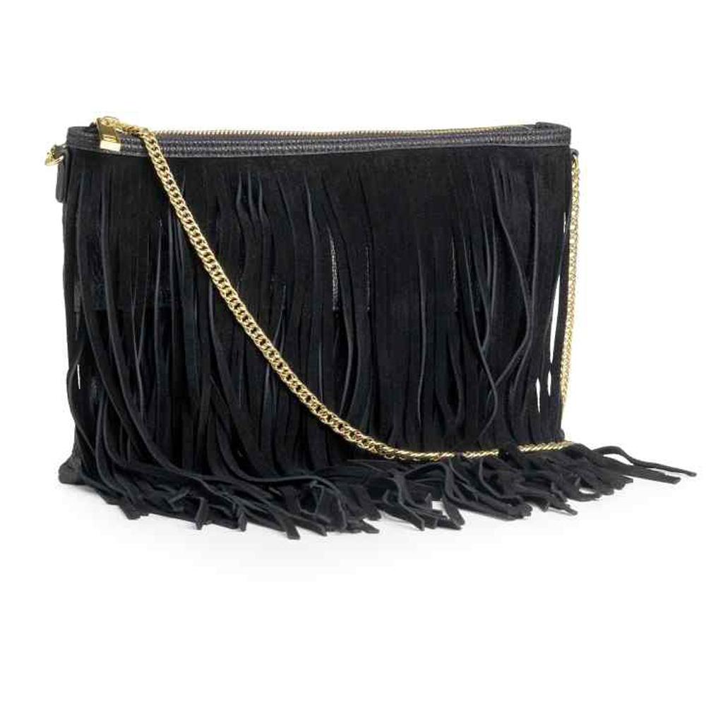 sac franges h m vite un sac franges elle. Black Bedroom Furniture Sets. Home Design Ideas