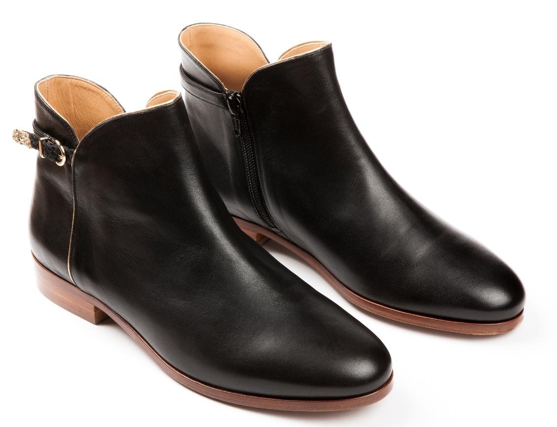 bottines noires des petits hauts 50 bottines noires pour commencer l hiver du bon pied elle. Black Bedroom Furniture Sets. Home Design Ideas