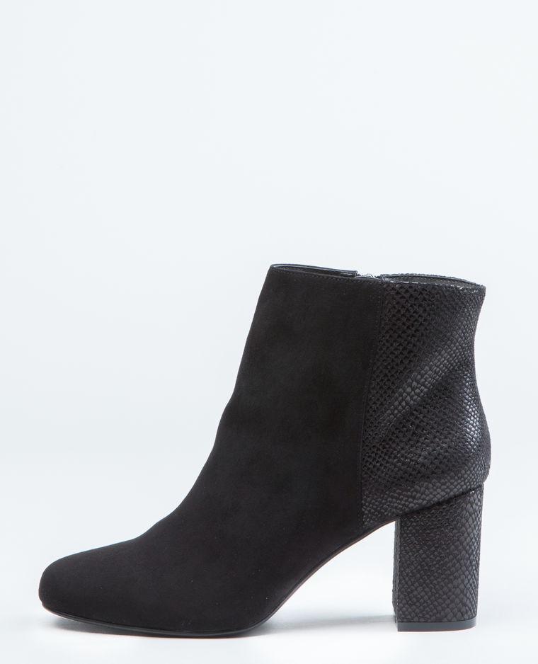 bottines noires pimkie 50 bottines noires pour commencer l hiver du bon pied elle. Black Bedroom Furniture Sets. Home Design Ideas
