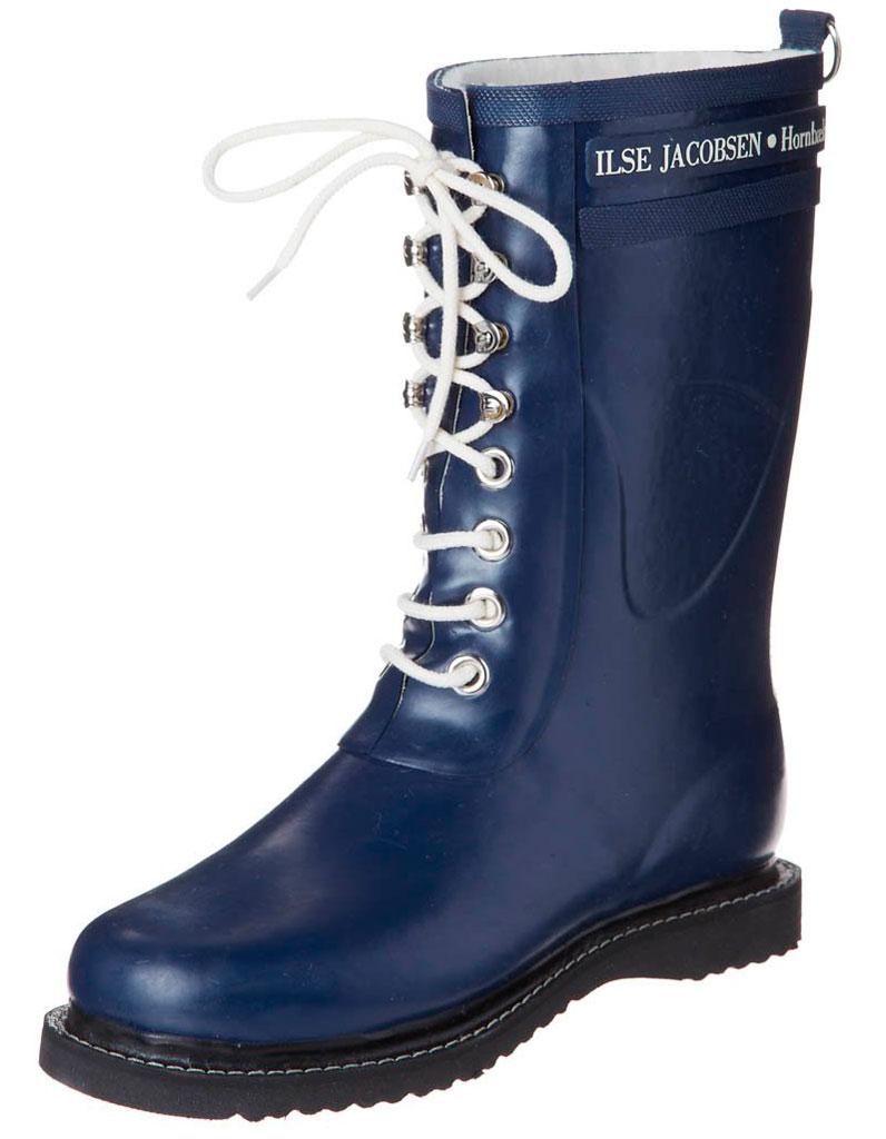bottes de pluie bleu marine ilse jacobsen bottes de pluie des mod les comme s il en pleuvait. Black Bedroom Furniture Sets. Home Design Ideas