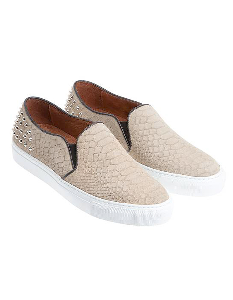 chaussures slip on sandro. Black Bedroom Furniture Sets. Home Design Ideas