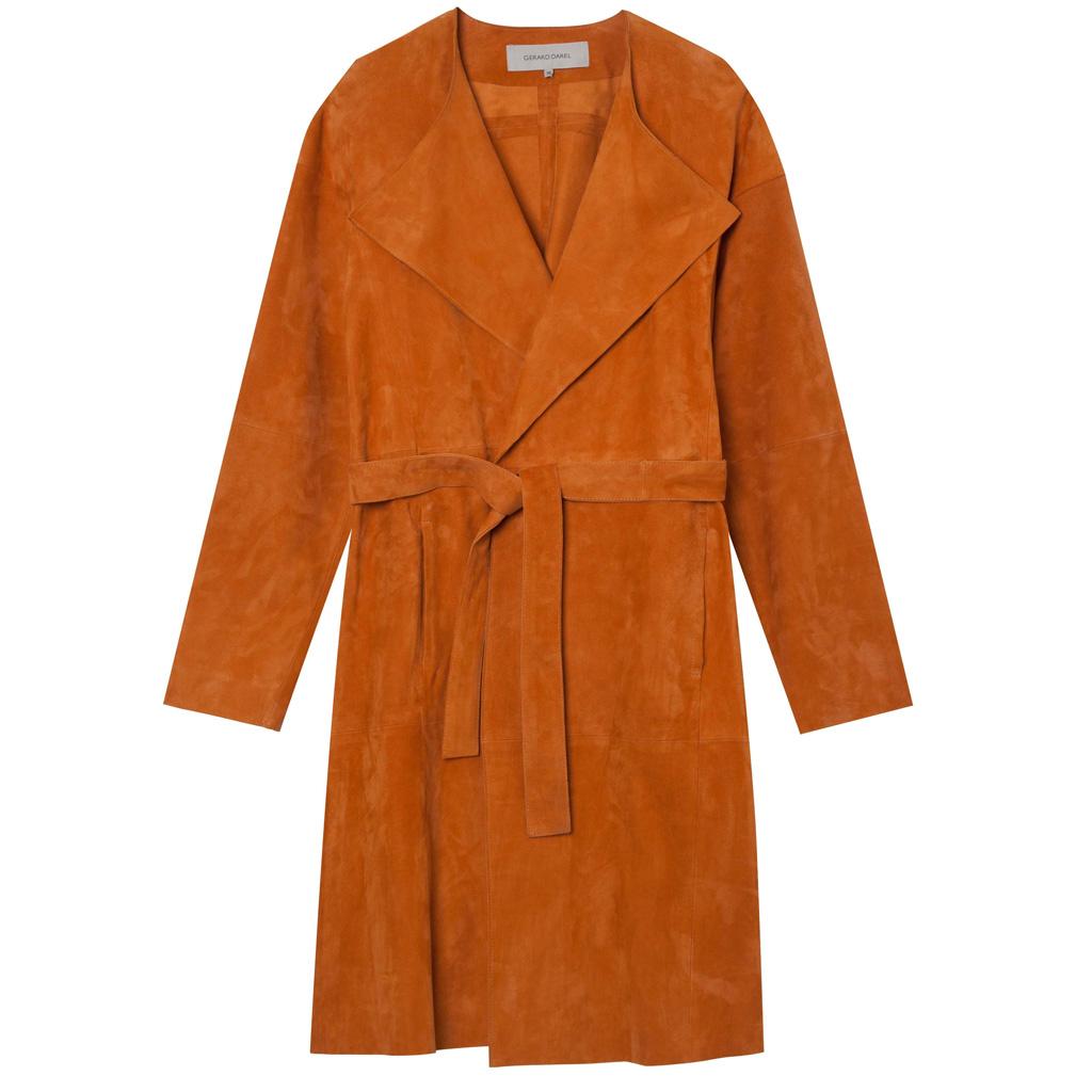 Gerard darel manteau cuir