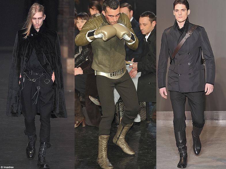 les boots d fil s hommes les tendances de l 39 hiver 2010 2011 elle. Black Bedroom Furniture Sets. Home Design Ideas