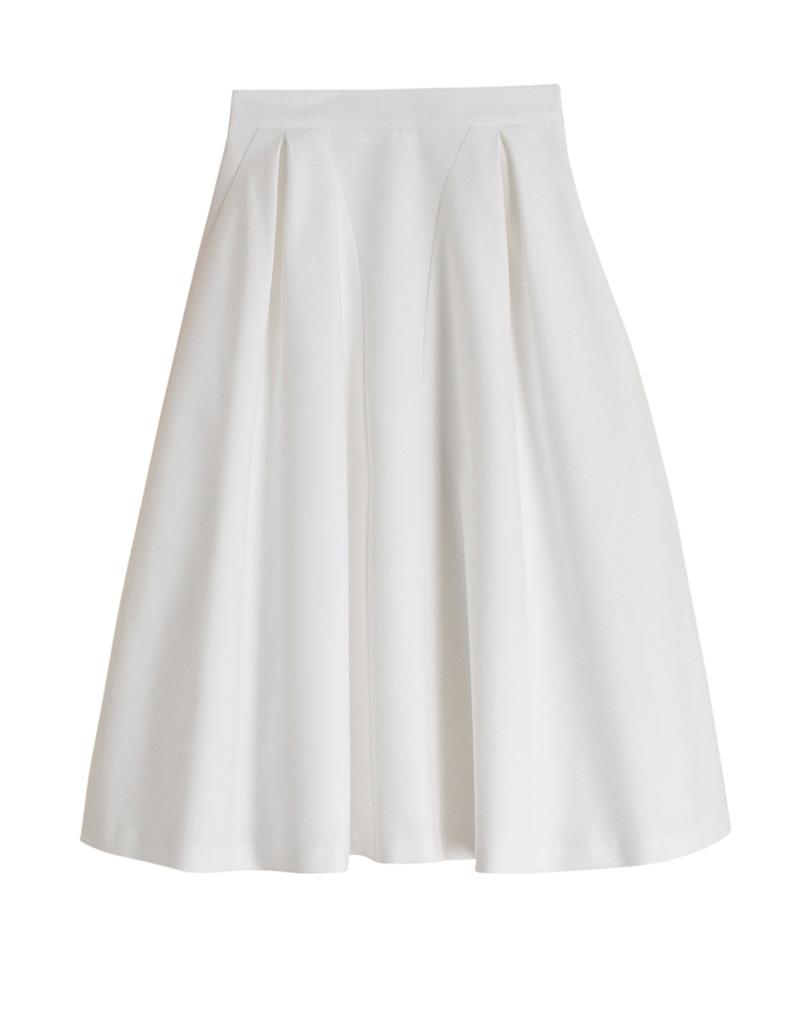 jupe blanche tara jarmon 20 jupes blanches pour amorcer l 39 t elle. Black Bedroom Furniture Sets. Home Design Ideas