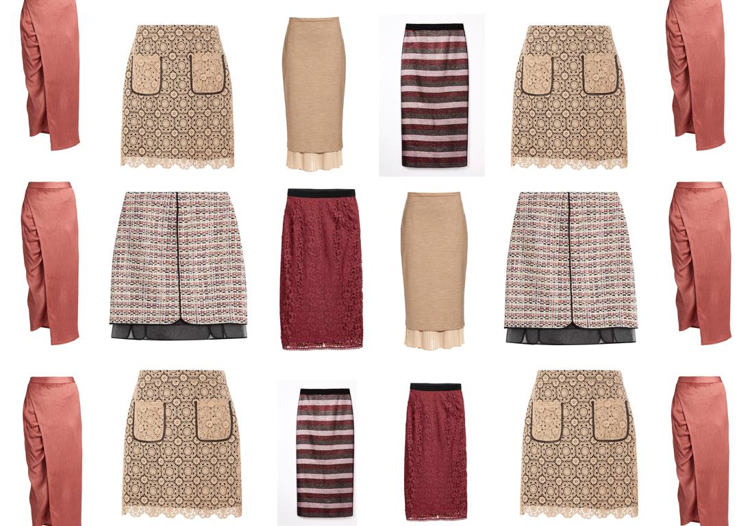 jupe taille haute en daim 23 jupes taille haute pour un. Black Bedroom Furniture Sets. Home Design Ideas