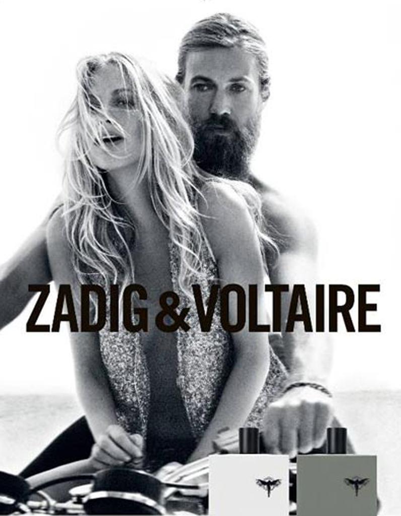 Souvent Poppy, muse de Zadig & Voltaire - Le match mode des sœurs  XS57