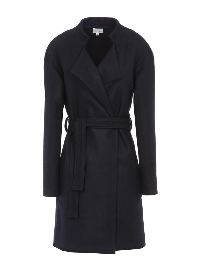 manteau rdm trench noir nouveaux manteaux on les a rep r s elle. Black Bedroom Furniture Sets. Home Design Ideas